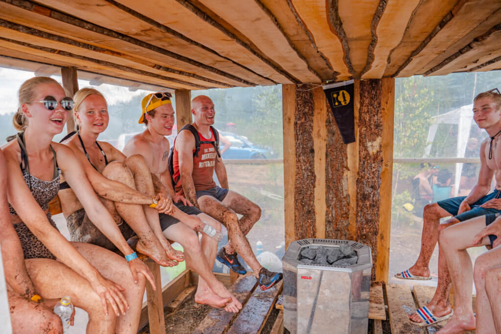 Swamp Volley Sauna