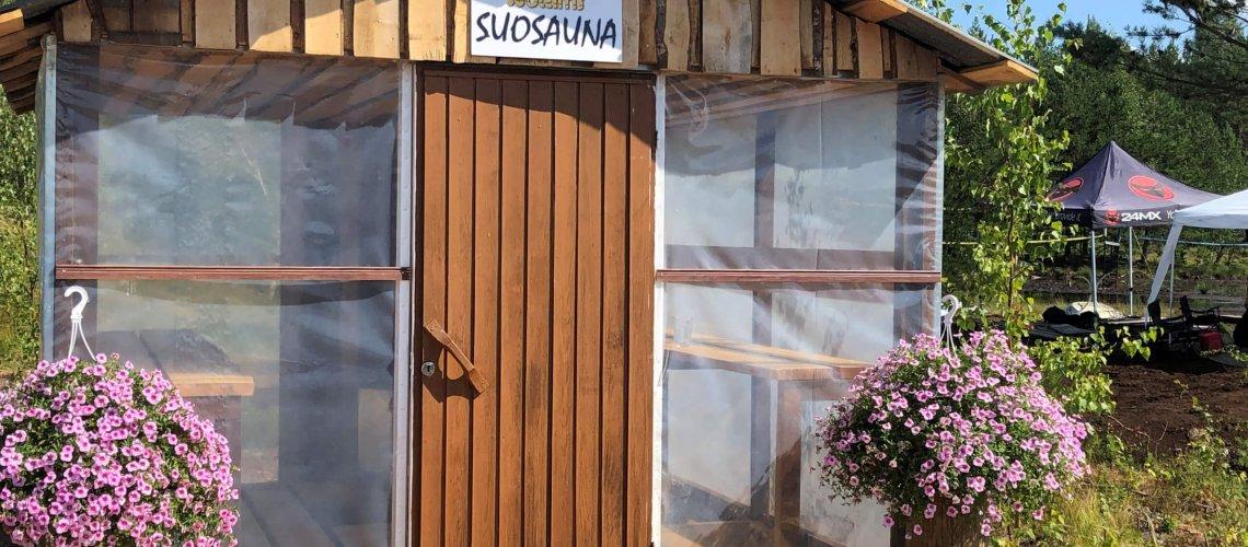 Swamp volley Sauna